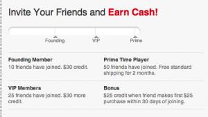 fab.com money for referring friends
