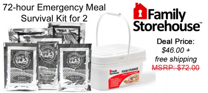 emergency preparedness kit coupon