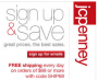 JC Penney Coupons