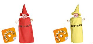 costume mustard and ketchup