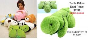 turtle pillow pet coupon cheap