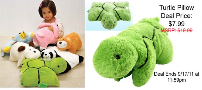 turtle pillow pet coupon cheap