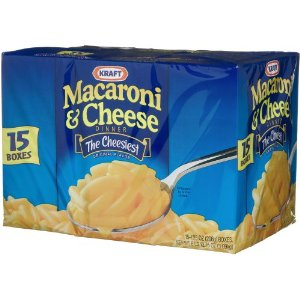 Macaroni Cheese Kraft Blue Box Macaroni & Cheese (Pack of 15) for $7.79 $9.74 Shipped (52¢ 65¢/box)!