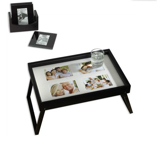 melannco bed tray coasters photos