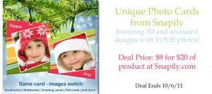 3d christmas card deal