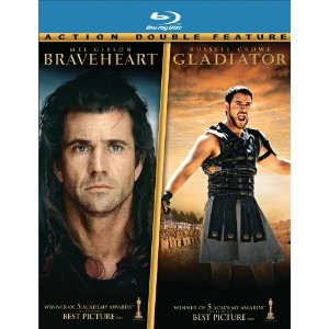 Braveheart Gladiator Blu-ray Deal