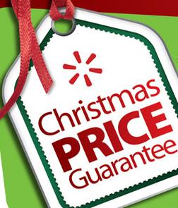 walmart christmas price guarentee