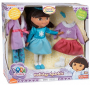 dora the explorer holiday sparkle doll