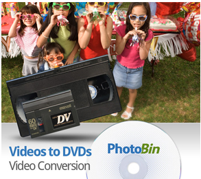 home videos to dvd's deal