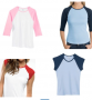 raglan tees deal free shipping
