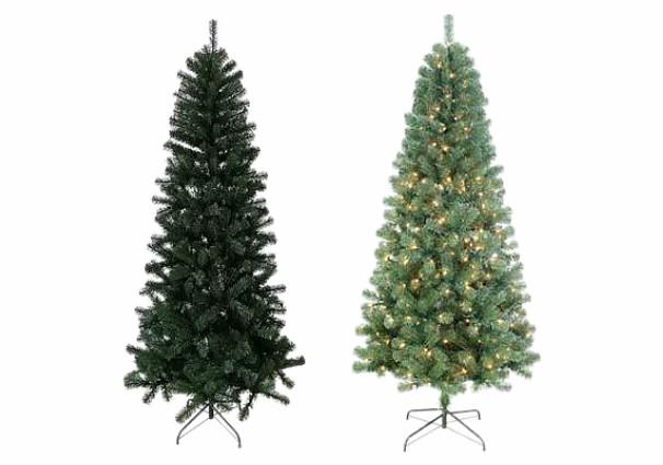7-ft. Pre-lit Slim Artificial Christmas Tree $52.49 + $10 Kohl's ...