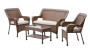 wicker outdoor set deal