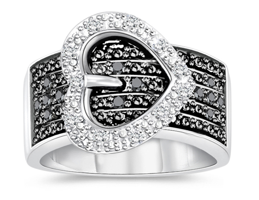 Buckly Heart Diamond Ring Deal