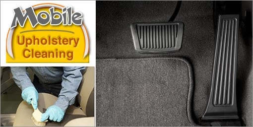 Mobile Upholstery Cleaning Deal