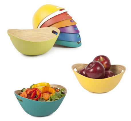 bamboo bucket bowls deal