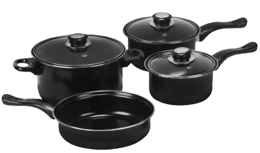carbon steel cookware set deal