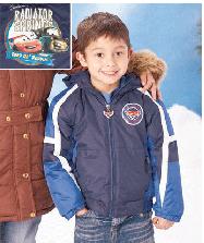 disney cars fleece lined snow jacket deal