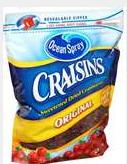 free craisins sample