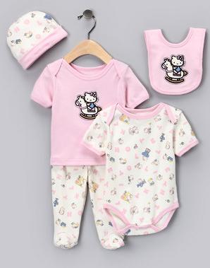hello kitty baby clothing deals