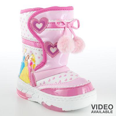 Disney Princess Light-Up Boots