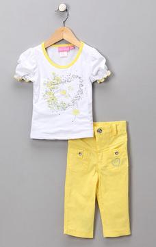 girls capri 2 piece outfit deal