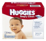 huggies simply clean wipes deal