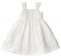 infant toddler girls dress ivory deal free shipping