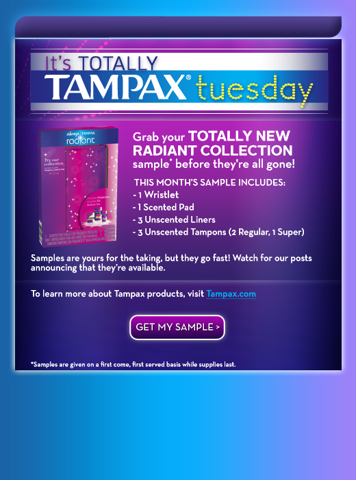 Free Tampax Deal