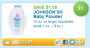 johnsons baby product printable coupon