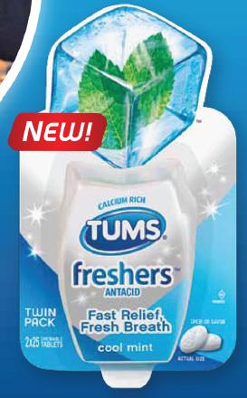 tums freshers sample
