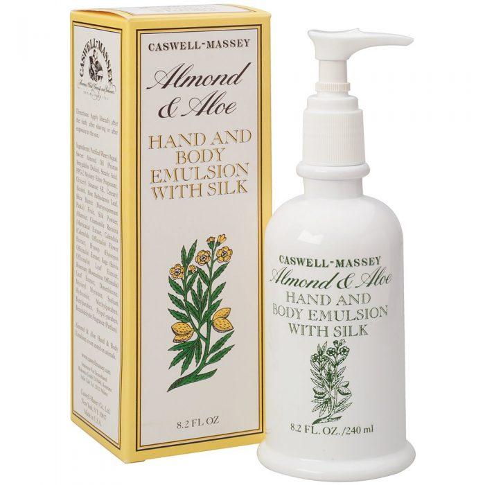 Caswell-Massey Almond & Aloe Hand & Body Emulsion Sample