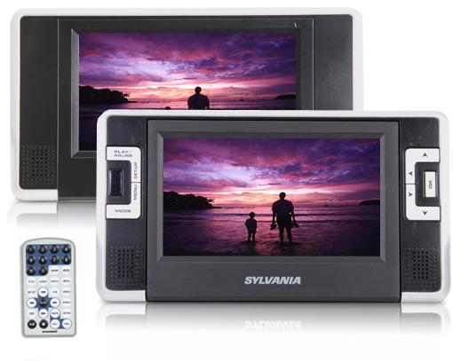 Sylvania Dual Screen Portable DVD Player