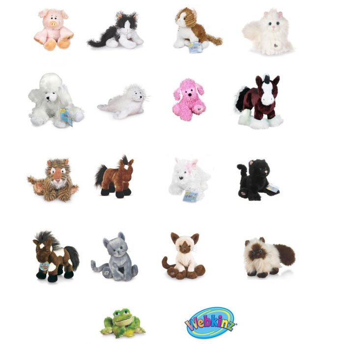 Webkinz 25 Pack from Graveyard Mall