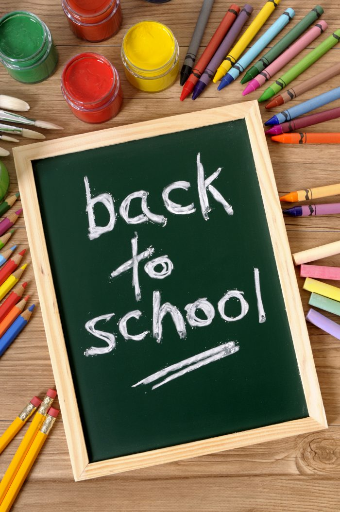 back to school or back to school