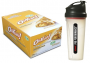 GNC protein bars and shaker cup
