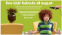 JCP Salon FREE Kid's Haircuts