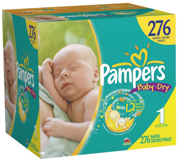 case of diapers