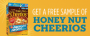 free sample honey nut cheerios deal