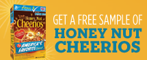 free sample honey nut cheerios deal
