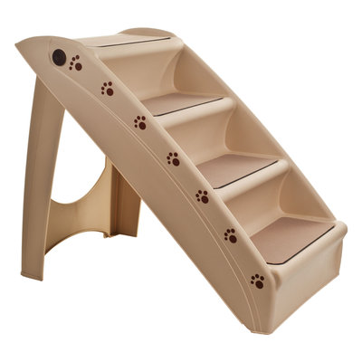paw fold-able pet staircase stairway