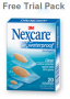 Nexcare Waterproof Free Trial Pack