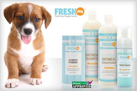 eversave fresh dog shampoo