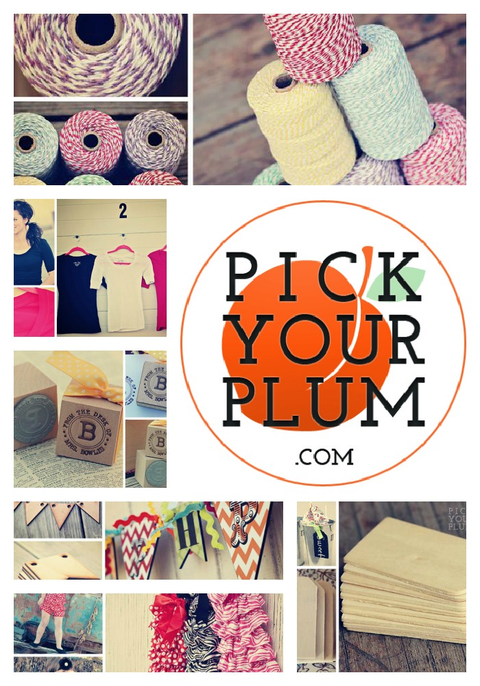 Pick your plum collage