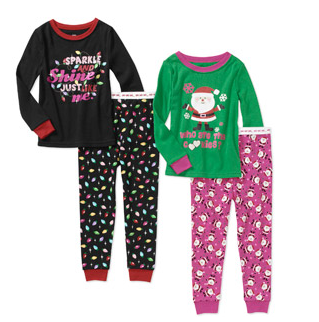 2-pack christmas jammies