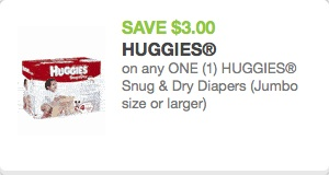 Huggies Diaper Coupon