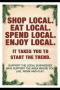 Shop Local - Small Business Saturday