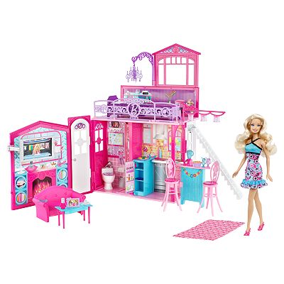 barbie glam house