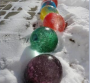 frozen water balls