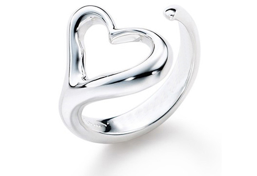 heart wrap ring