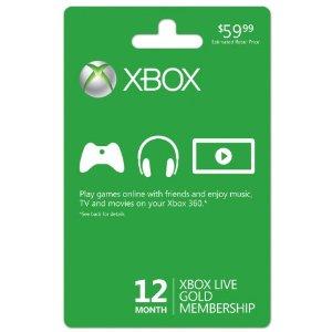 XBox 360 Live Memebership